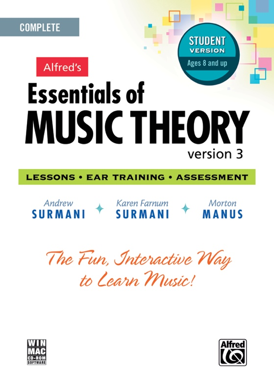 Alfred Essential of Music Theory 1-3 - Student Edition image 1