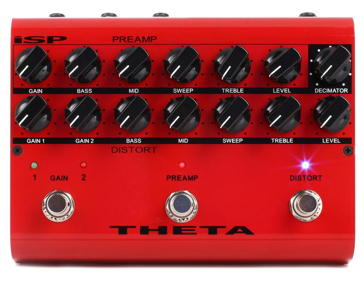 ISP Technologies Theta Preamp Distortion Pedal with Decimator Noise Reduction image 1
