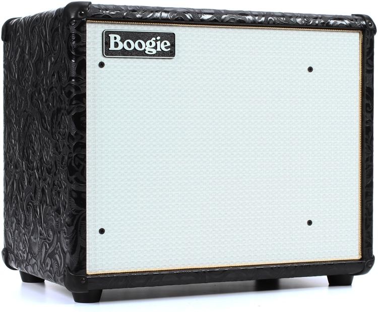 Mesa Boogie Thiele Compact 90 Watt 1x12 Extension Cabinet Black Fl W White Grille