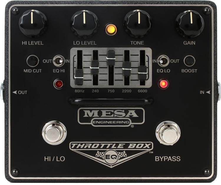 Mesa/Boogie Throttle Box EQ 5-band Graphic EQ Pedal image 1