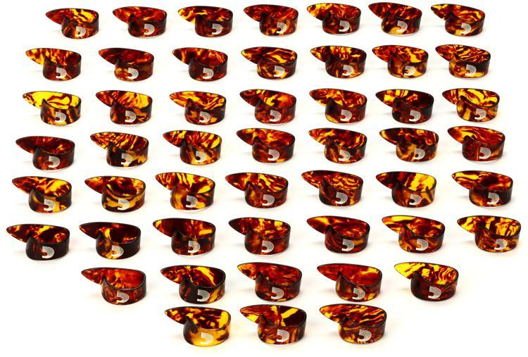 D\'Addario Planet Waves SCSH4-50 Medium Thumb Picks - 50-Pack image 1