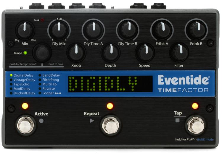 Eventide TimeFactor Delay Effect Pedal image 1
