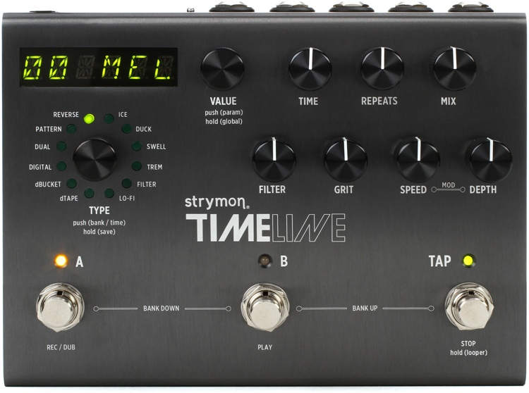 strymon timeline multidimensional delay pedal sweetwater. Black Bedroom Furniture Sets. Home Design Ideas