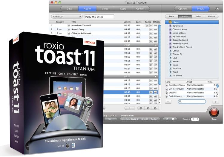 Roxio Toast 11 Titanium image 1