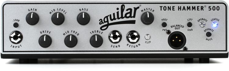 Aguilar Tone Hammer 500 - 500W Super Light Head image 1
