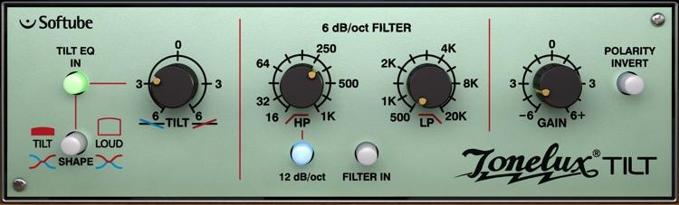 Softube Tonelux Tilt EQ Plug-in - TDM image 1