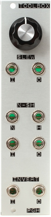 Pittsburgh Modular Toolbox Eurorack Slew, Noise, Sample & Hold, Inverter Module image 1