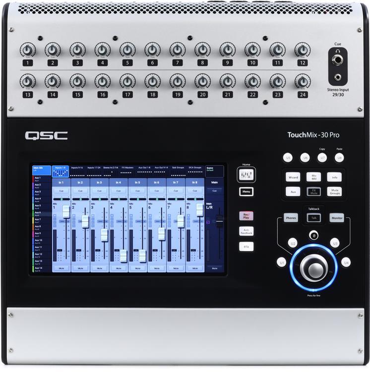 QSC TouchMix-30 Pro Touchscreen Digital Mixer image 1