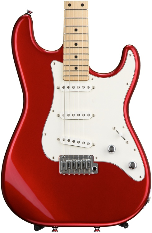 Schecter USA Traditional - Candy Red with Maple Fingerboard and Pasadena Pickups image 1