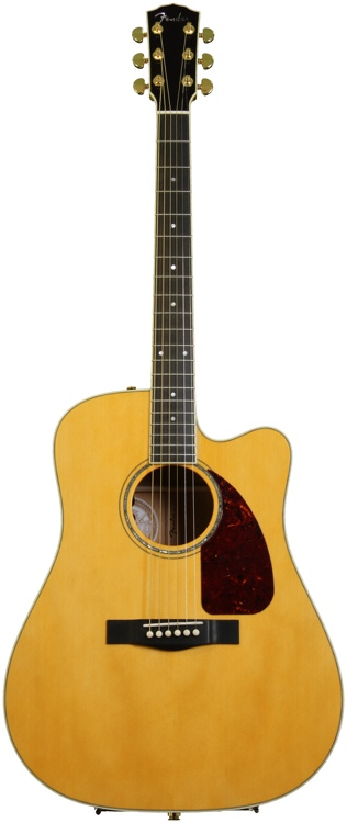Fender Custom Shop TPDCE-1 Traditional Pro USA Dreadnought - Natural image 1