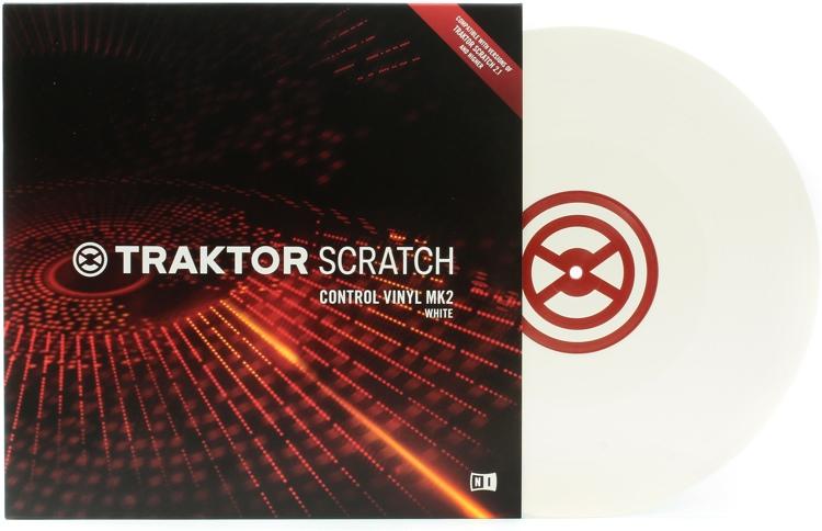 Native Instruments Traktor Scratch Control Vinyl MK2 - White image 1