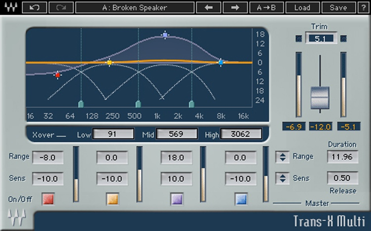 Waves Trans-X Plug-in image 1