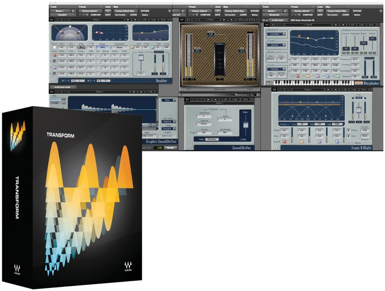 Waves Transform Plug-in Bundle for Academic Institutions - Native image 1