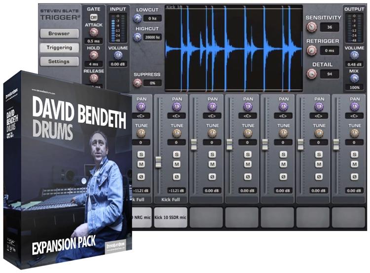 Steven Slate Drums David Bendeth Drums Expansion Pack for Trigger image 1