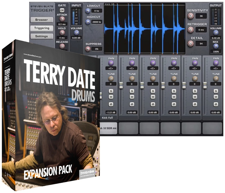 Steven Slate Drums Terry Date Drums Expansion Pack for Trigger image 1