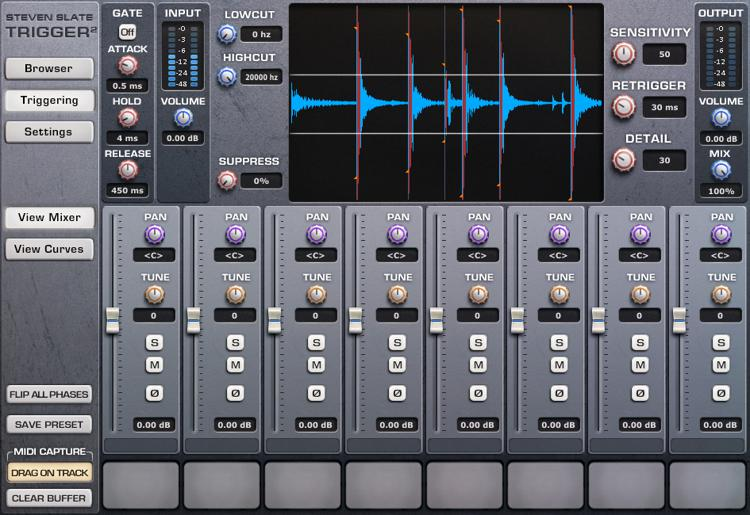Steven Slate Drums Trigger 2 Platinum Drum Replacement Plug-in (download) image 1