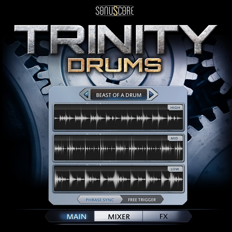 Best Service Trinity Drums image 1