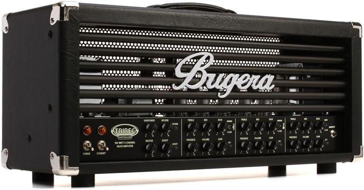 Bugera TriRec Infinium 100-watt 3-channel Tube Head image 1