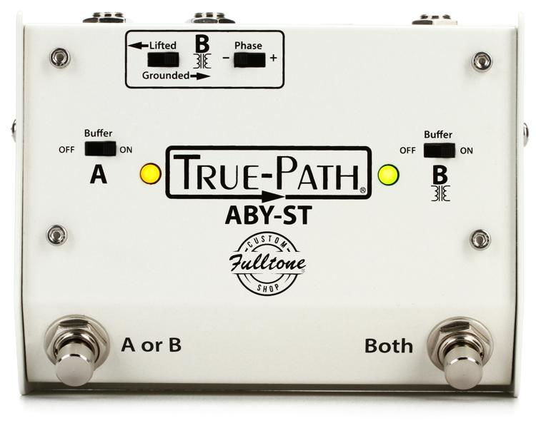 Fulltone Custom Shop True-Path ABY-ST - White image 1