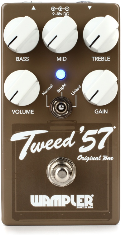 Wampler Tweed \'57 Overdrive Pedal image 1