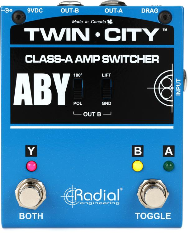 Radial Bones Twin City A-B-Y Amp Switcher image 1