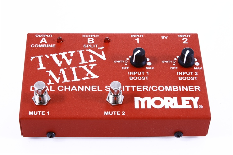 Morley Twin Mix Dual Channel Mixer/Combiner Pedal image 1