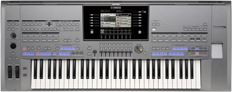 Yamaha Tyros5 61-key Arranger Workstation image 1