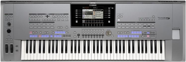 Yamaha Tyros5 76-key Arranger Workstation image 1