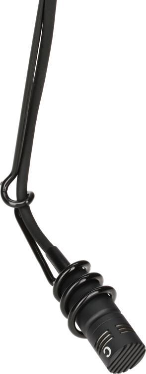 Audio-Technica U853R Cardioid Condenser Hanging Microphone - Black image 1