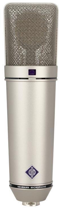 Neumann U 87 Ai Large-diaphragm Condenser Microphone - Nickel image 1