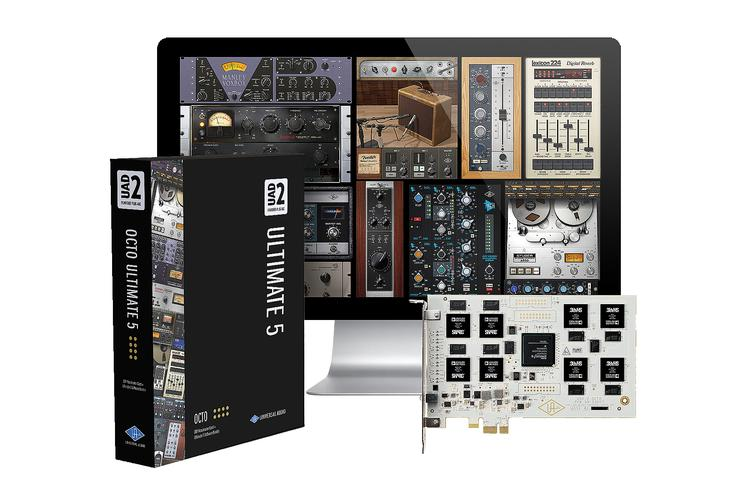 Universal Audio UAD-2 OCTO Ultimate 5 PCIe DSP Accelerator image 1