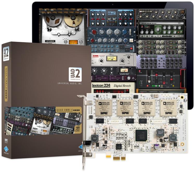 Universal Audio UAD-2 - QUAD Omni image 1