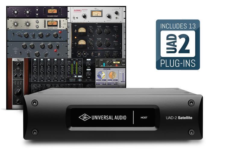Universal Audio UAD-2 Satellite Thunderbolt QUAD Custom image 1