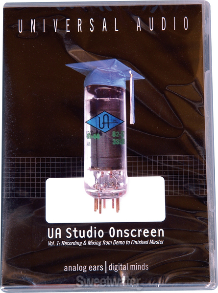Universal Audio Studio on Screen DVD vol. 1: Recording & Mixing from Demo to Finished Master image 1