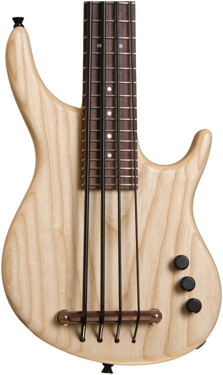 Kala Solid Body U-Bass - 4-String, Fretted, Sat Nat Ash image 1