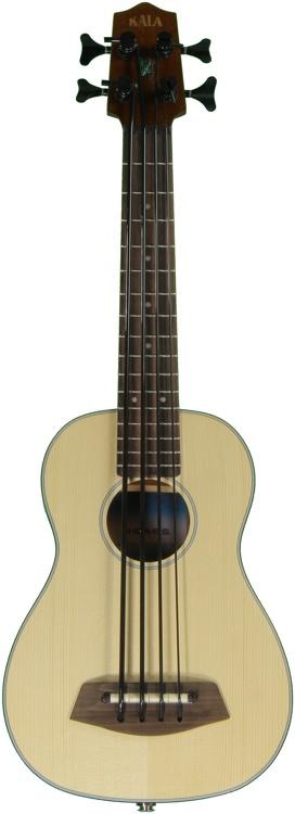 Kala U-Bass - 4-String, Fretted, Spruce image 1