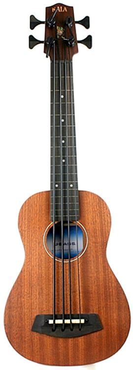 Kala U-Bass - 4-string, Fretless, Mahogany image 1