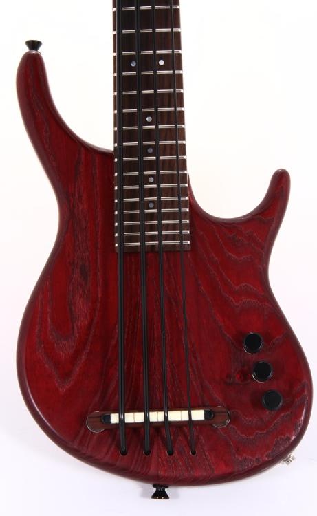 Kala Solid Body U-Bass - 4-String, Fretless, Satin Red image 1