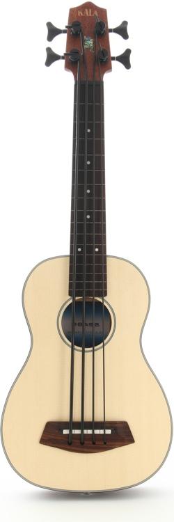 Kala U-Bass - 4-String, Fretless, Spruce image 1