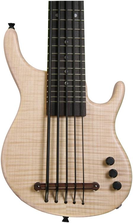 Kala U Bass Exotic Custom Solid-Body U-Bass - Figured Maple top, 5-String, Fretted image 1