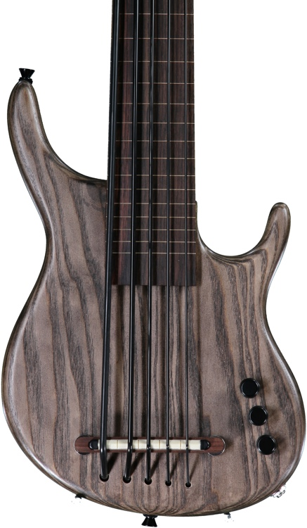 Kala Solid Body U-Bass - 5-String, Fretless, Sat Brown image 1