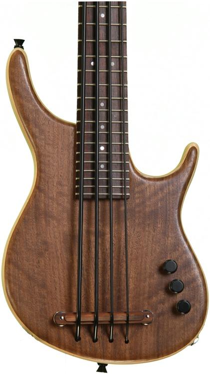 Kala U Bass Exotic Custom Figured Walnut top - 4 String Fretted image 1
