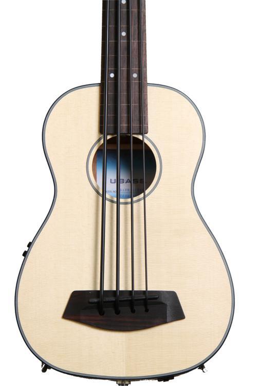 Kala U-Bass - Spruce Top, Fretless image 1
