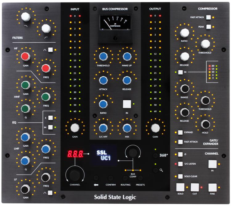 Solid State Logic UC1 Advanced Plug-In Controller | Sweetwater
