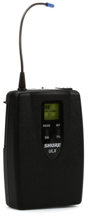 Shure ULX1 Bodypack Transmitter - G3 Band, 470 - 505 MHz image 1