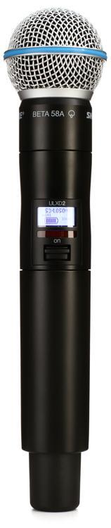 Shure ULXD2/Beta58 - H50 Band, 534 - 597 MHz image 1