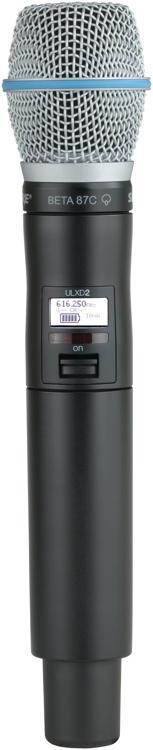 Shure ULXD2/B87C - L50 Band - 632-696 MHz image 1