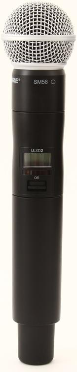 Shure ULXD2/SM58 - J50 Band - 572-636 MHz image 1