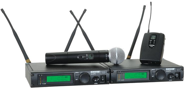 Shure ULXP124/58 - J1 Band, 554 - 590 MHz image 1