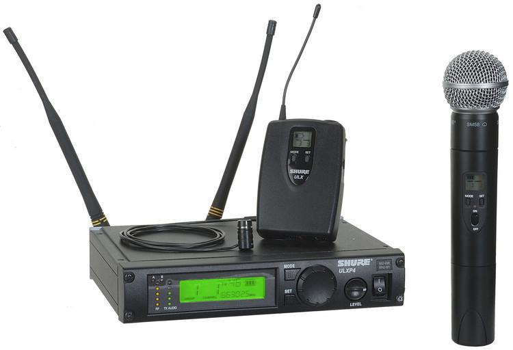 Shure ULXP124/85 - G3 Band, 470 - 505 MHz image 1